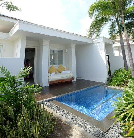 Princess D'An Nam Resort & Spa: Princess Villa private plunge pool