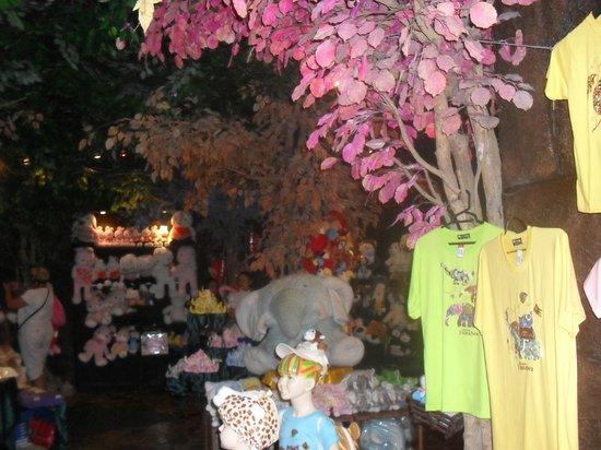 Phuket FantaSea: Interior of a shop