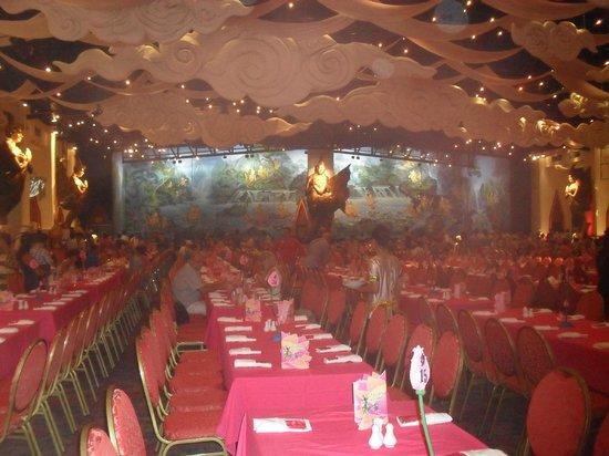 Phuket FantaSea: The non VIP banquet are very nice too