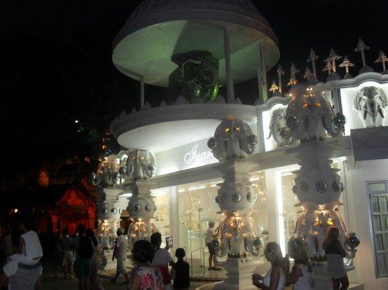 Phuket Fantasea One Ofn The Decorative Shops Outside