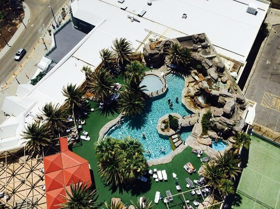 View Of Pool From Above Picture Of Rendezvous Hotel Perth Scarborough Scarborough Tripadvisor