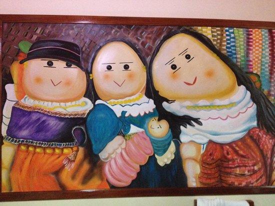 Posada Tambuca: Bedroom Mural #5
