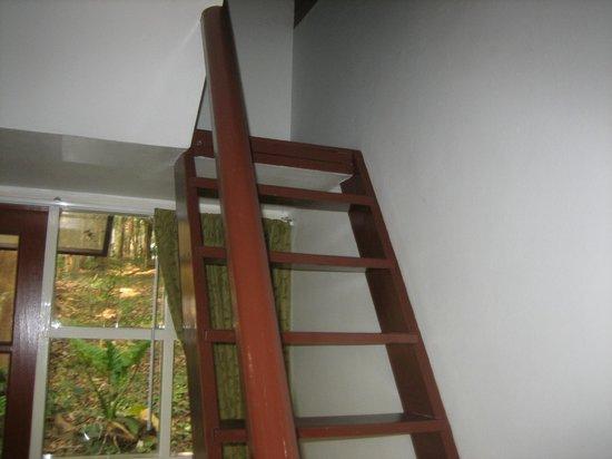 Sappraiwan Grand Hotel & Resort : Extra sleeping area in the loft