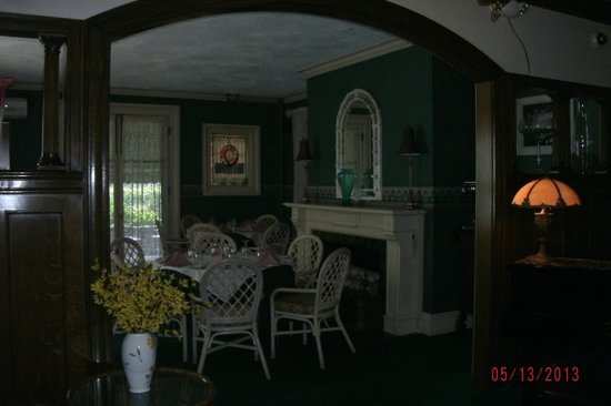 The Stonehurst Manor: small dining room, larger ones not pictured