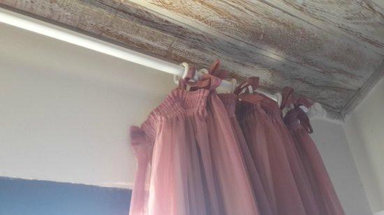 Pousada Boutique Bella Nina : cortina rota