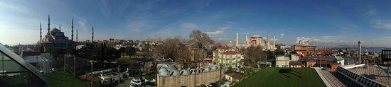 Armagrandi Spina Istanbul: total view from hotel roof….stunning!
