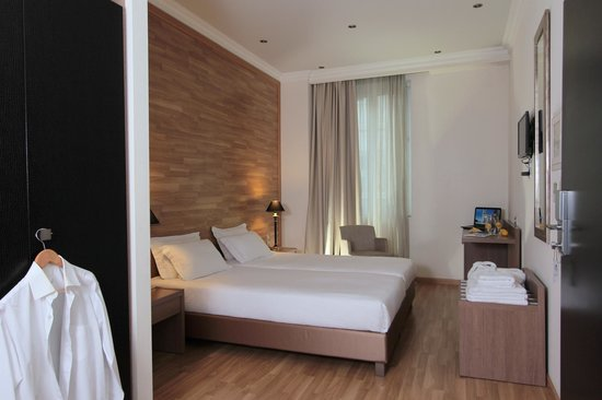 Athens Lotus Hotel: Superior Twin Room