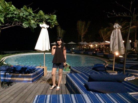 Komune Resort, Keramas Beach Bali: Lovely night
