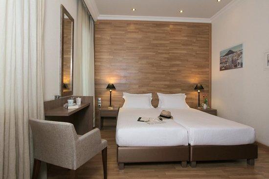Athens Lotus Hotel: Standard Twin Room