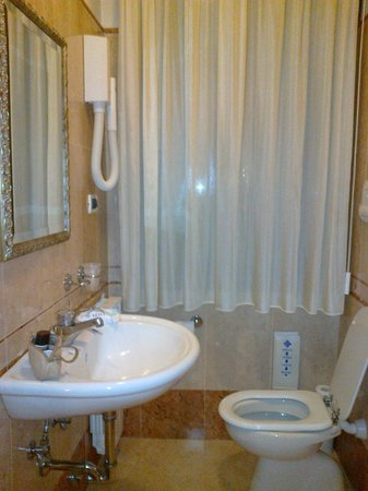 Hotel Mercurio Venezia: bagno