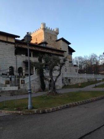 Abadia de Los Templarios: Front of castle