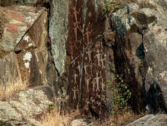 Snake Dancer Excursions : Petroglyphs in Hells Canyon