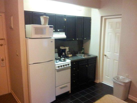 Radio City Apartments: Apartamento Amplo com mini cozinha