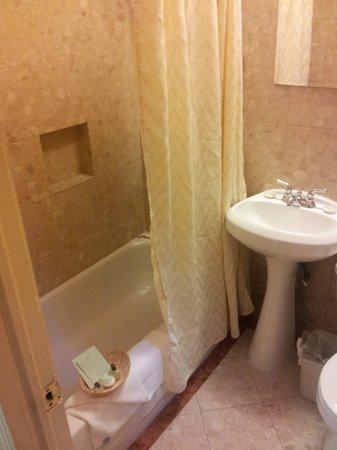 Radio City Apartments: Banheiro Pequeno