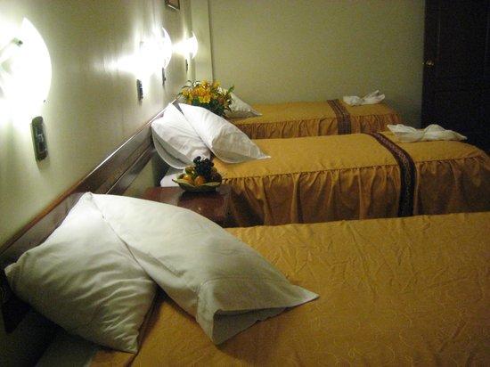 Antawasi Hotel: habitacion triple
