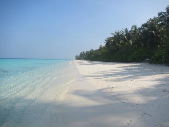 TME Retreats Dhigurah: spiaggia a destra