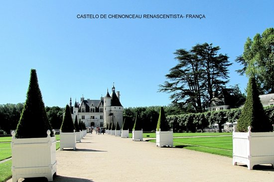 Schloss Chenonceau: Vista externa do Castelo Chenonceau