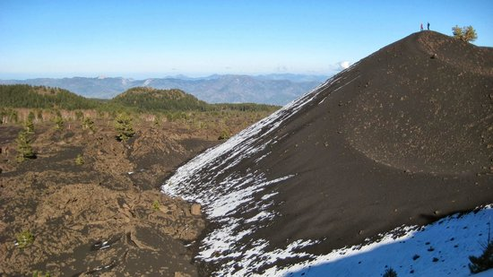 Etna Sicily Touring: Eccentric gaseous crater