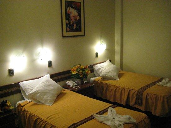 Antawasi Hotel: habitacion doble twin