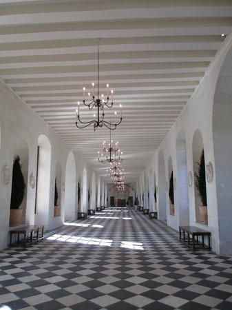 Schloss Chenonceau: Interior do Castelo