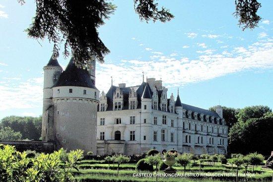 Schloss Chenonceau: Vista externa do Castelo