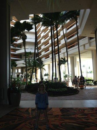 Hyatt Regency Maui Resort and Spa: Hotel Lobby/Courtyard