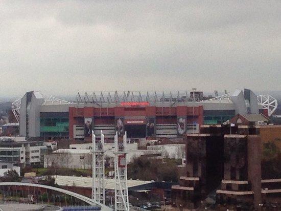 Holiday Inn Manchester MediaCityUK: View of Old Trafford