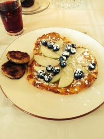The Borland B&B & Brunch House : Fabulous German pancake breakfast