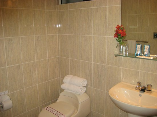Antawasi Hotel: baño de habitacion