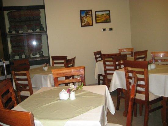 Antawasi Hotel: comedor