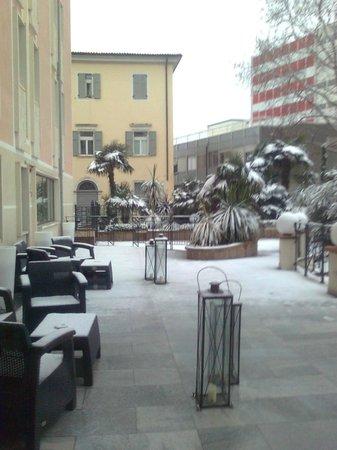 Hotel Leon d'Oro: piscina