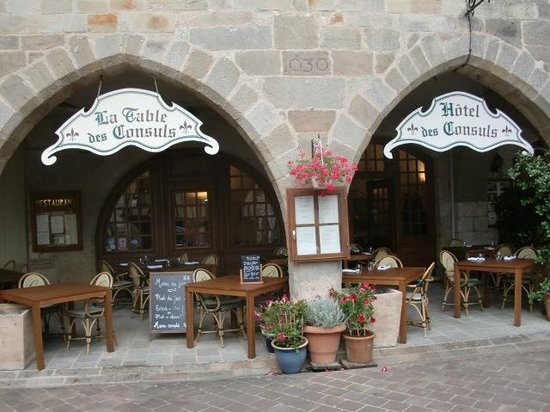 Hotel Des Consuls : the restaurant