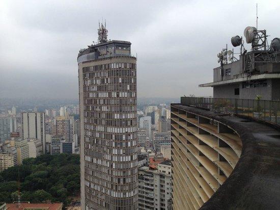 Copan Building : Vista do terraço do Copan