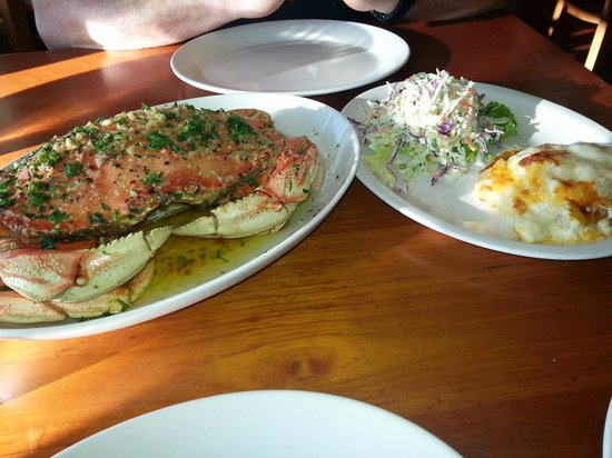 The Fish Market: Dungeness crab with scalloped potatoes