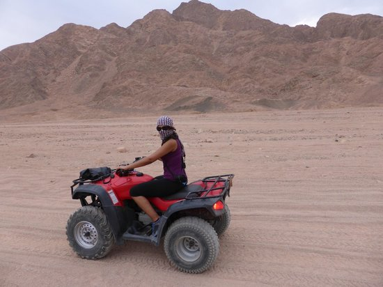 Easy Travel Egypt - Day Tours : Quadbiking in Dahab