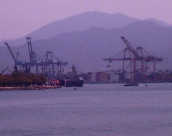 Manzanillo Bay: zona del puerto