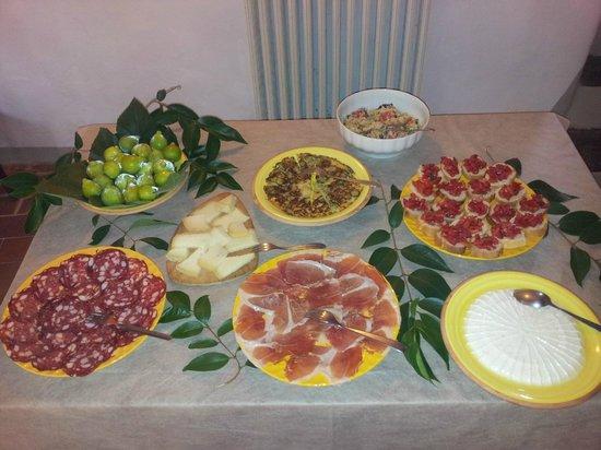 Agriturismo San Giorgio : antipasto al buffet