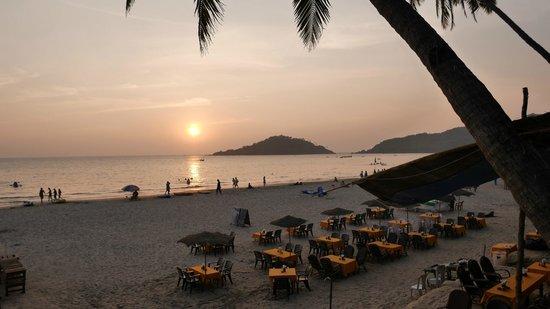 Cuba Premium Beach Huts: vue depuis la terrasse du 101