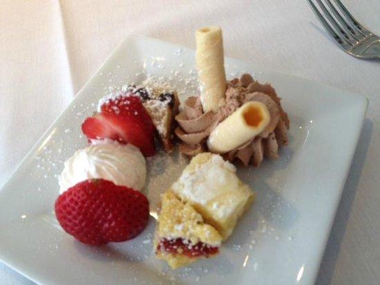 Bon Appetit: Mini Dessert Sampler $3