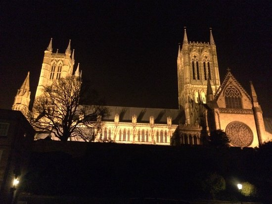 Lincoln Cathedral : Вид на Собор