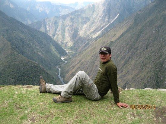 Inti Sun Trek: Carlos, our guide