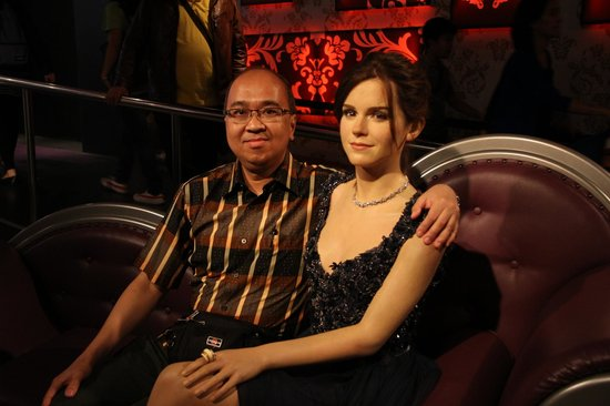 Madame Tussauds London: With Jennifer Aniston