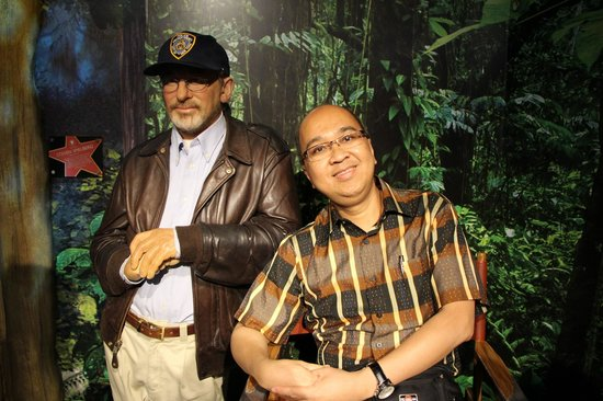 Madame Tussauds London: With Steven Spielberg