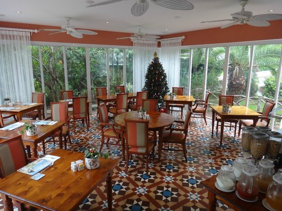Royal Palms Hotel : Breakfast area