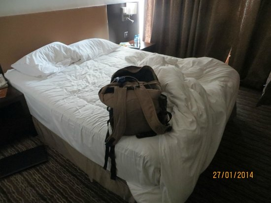 Safir Doha Hotel: Bed