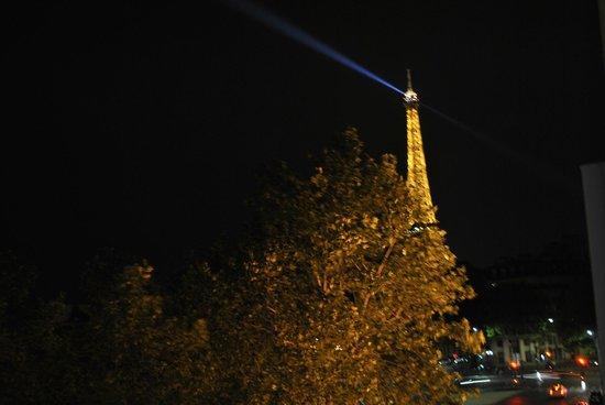 Derby Eiffel Hotel: Vista desde mi habitacion (HERMOSA!)