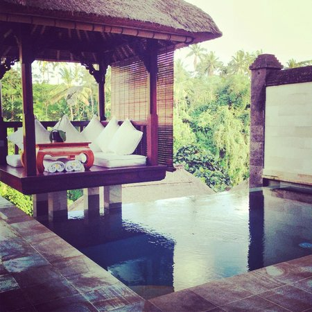 Viceroy Bali: Our room - spectacular private space