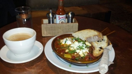 The Grove : Moroccan Baked Eggs
