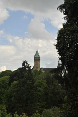 Hotel Parc Belle-Vue: Vista desde el hotel