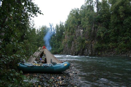 Dave Fish Alaska: Clear Creek Canyo